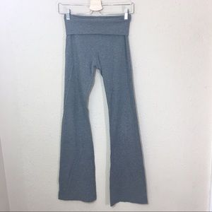 Hard Tail Wide Leg Foldover Yoga Pants Size S